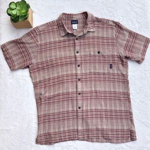 Patagonia Men's Large Button Down Short Sleeve